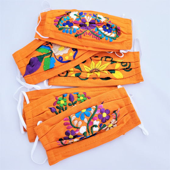 fair-trade-reusable-pleated-face-mask-with-embroidery-from-mexico