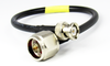 C553-240-48 BNC/Male to N/Male 48 inch LMR240 Coaxial Cable Assembly Centric RF