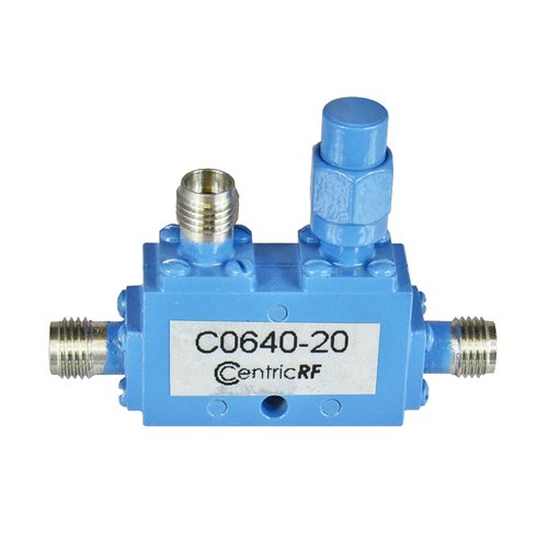 C0640-20 2.92/Female 6-40 Ghz 20 dB Coupler Centric RF