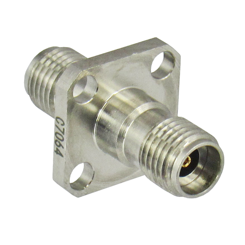 C7064 2.92/Female to 2.92/Female Flange Adapter Centric RF