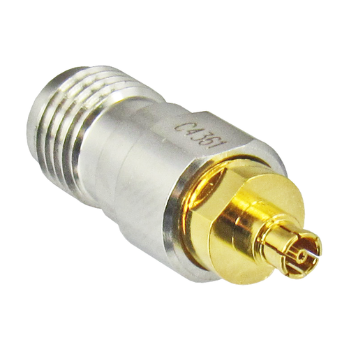 C4361 MiniSMP/Female to SMA/Female 18 Ghz Adapter Centric RF