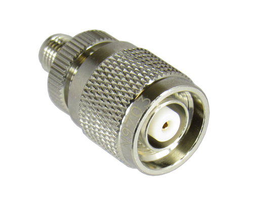 N9703 SMA/Female to TNC/Male/Reverse Polarity Network Grade Adapter Centric RF Reverse View
