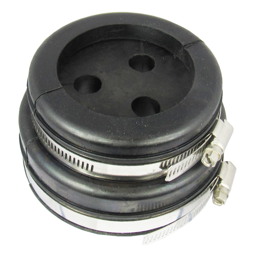 H9104305 4'' or 5'' boot and cushion for 3 holes at 1/2'' Corrugated coax Centric RF
