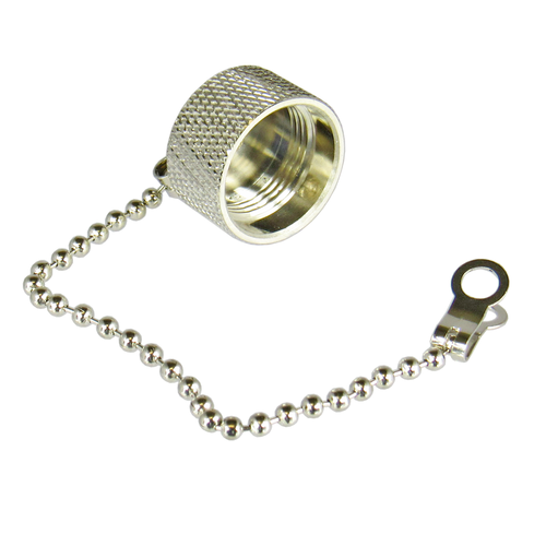 CNM2C N/Male Dust Cap with Chain Centric RF