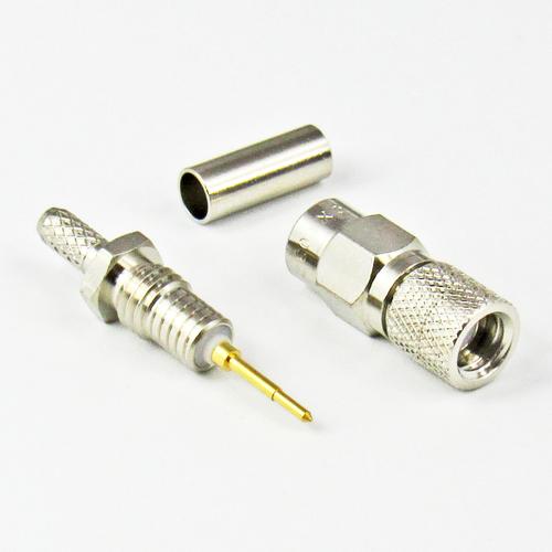 CX1032 10-32 Male Crimp Connector Centric RF