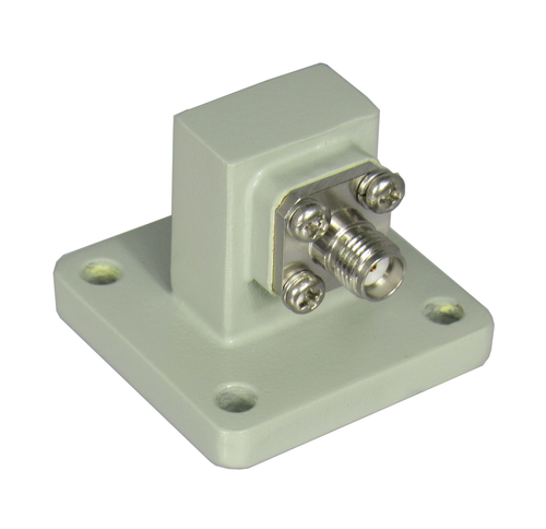 CWR62S WR62 to SMA/Female Waveguide to Coaxial Adapter Centric RF