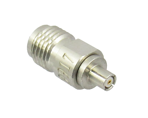 C9917B U.FL (AMC) Plug to SMA Female Adapter 6Ghz VSWR 1.3 S Steel Centric RF