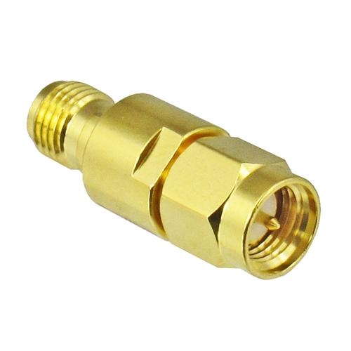 C3W2-2 SMA/Male to SMA/Female 2 Watt 3 Ghz 2 dB Attenuator Centric RF
