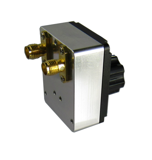 CR3S-11 SMA/Female 11dB Rotary Attenuator Connector View Centric RF