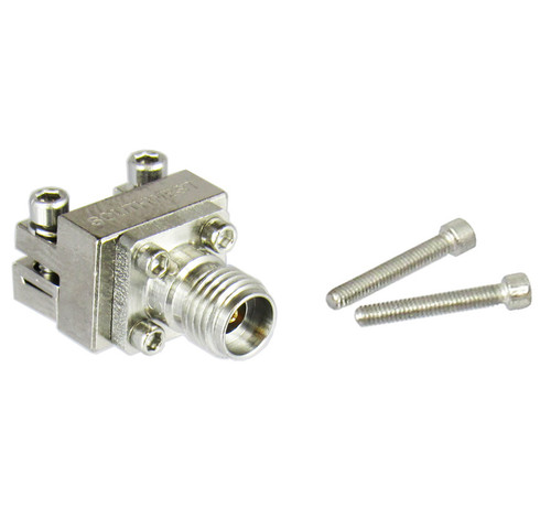 1092-02A-6 2.92/Female Edge Launch Connector for .007 pin .048 Dielectric Centric RF