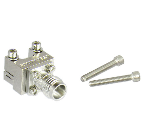 "1492-03A-5 2.4mm End Launch Connector .007"" pin 50ghz Centric RF"