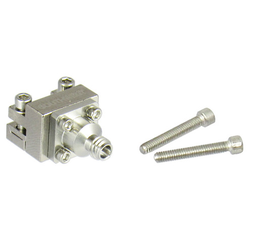2492-04A-6 1.0/Female Endlaunch Connector for .005 Pin and .029 Dielectric Centric RF