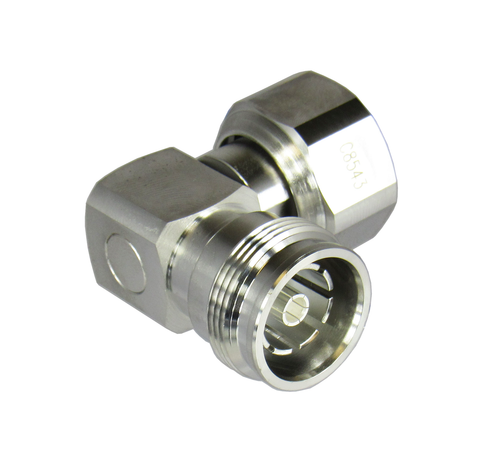 C8543 4.3/10 Male to 4.3/10 Female Right Angle Adapter Centric RF