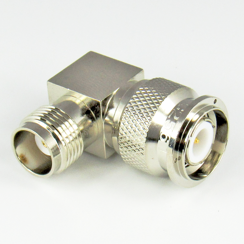 C2561 TNC Right Angle Adapter 11Ghz Male to Female VSWR 1.3 Brass Centric RF