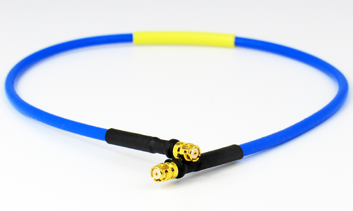 C578-086-09 SMP/Female to SMP/Female .086 9 inch Flexible Cable Assembly Centric RF