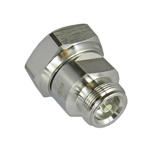 C8289 4.1/9.5 Female to 7/16 Male 6 Ghz Adapter Centric RF