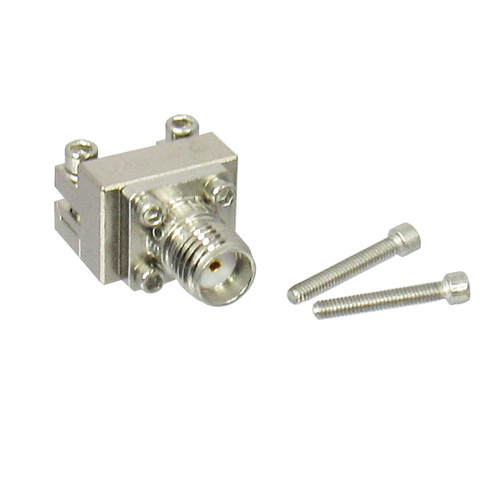 "292-04A-6 SMA End Launch Connector .010"" pin Low CentricRF"