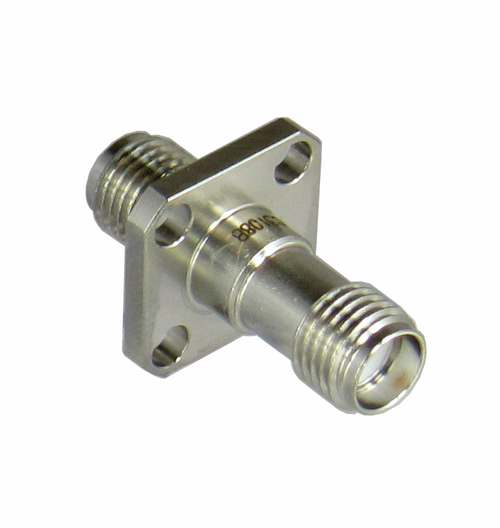 C3108B SMA/Female to SMA/Female Flange Adapter Centric RF