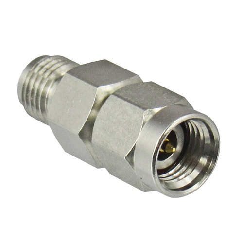 C7026B 2.92/Male to 2.92/Female 40 Ghz Adapter with Hex Centric RF