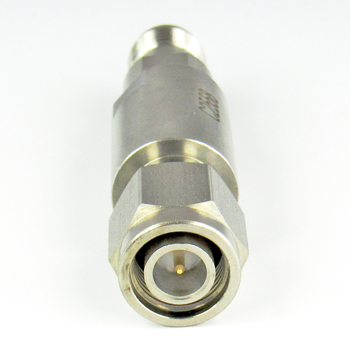 C2558  TNC Adapter 18Ghz Male to Female  VSWR 1.15 S Steel Clearance