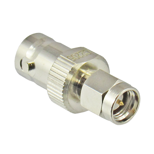 C2205 SMA Male to BNC Female Adapter 4Ghz VSWR 1.2  Brass Centric RF