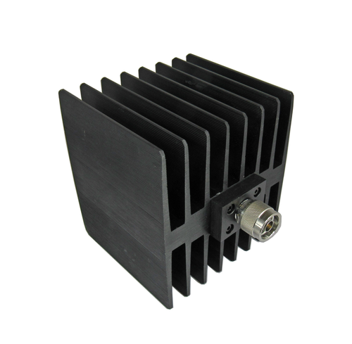C4N1005 N/Male 100 Watt Termination with Square Heat Sink Centric RF