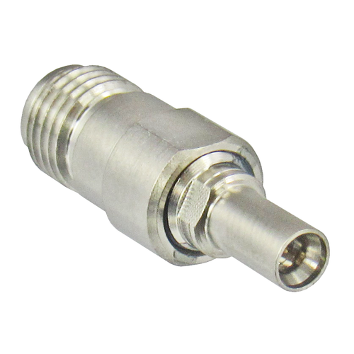 C4352 MiniSMP/Male Full Detente to SMA/Female Adapter Centric RF