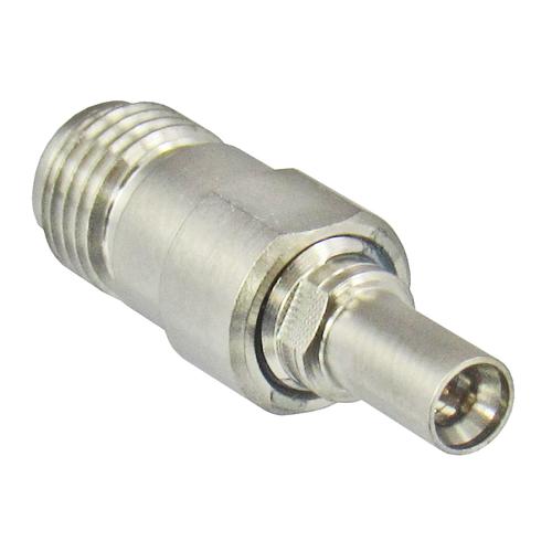 C4352 MiniSMP/Male Full Detente to SMA/Female Adapter Centric RF