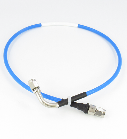 C582-141-0.5M SMA/M to SMA/MRA Swept Test Cable Flexible 18Ghz Centric RF