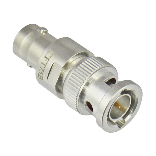 CFT75B BNC Termination Feedthru Male/Female 75 Ohms 1Ghz Centric RF