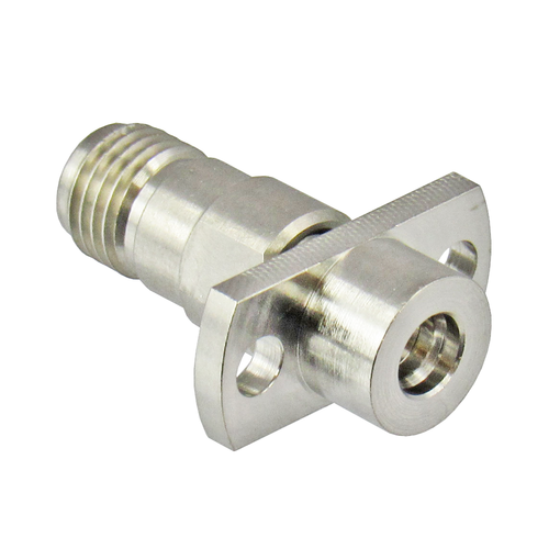 MADP-6266 SMP Male Limited Detente to SMA Female Flange Adapter