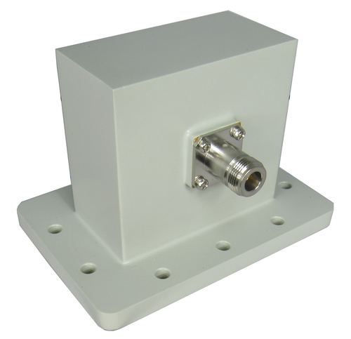 WR340 to N/Female Waveguide to Coaxial Adapter Centric RF