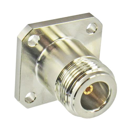 C3647 SMA to N F/F Flange Adapter 11Ghz VSWR 1.2 Brass N flange side Centric RF