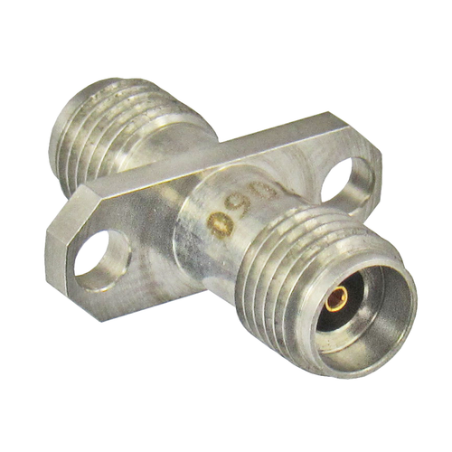 C7060 2.92mm 2 Hole Flange Adapter Female to Female VSWR 1.25 40Ghz Centric RF