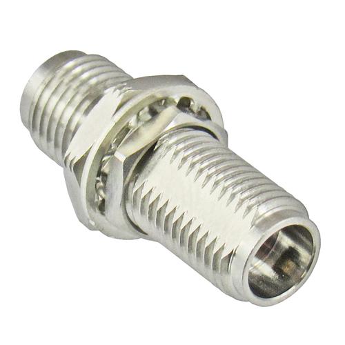 C7524 2.4mm Female to 2.4mm Female Bulkhead Centric RF