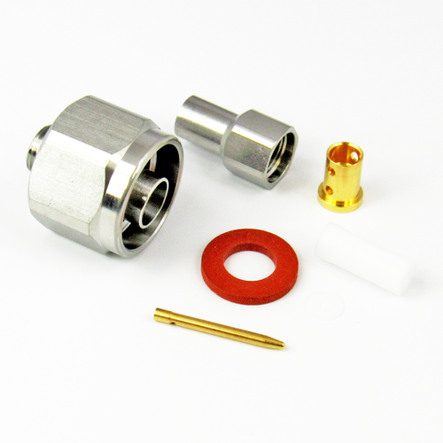 CX1436 N Male Connector for LL142 Cable Centric RF