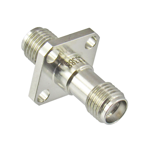 C3388 SMA Adapter F/F Flange 27ghz VSWR Centric RF