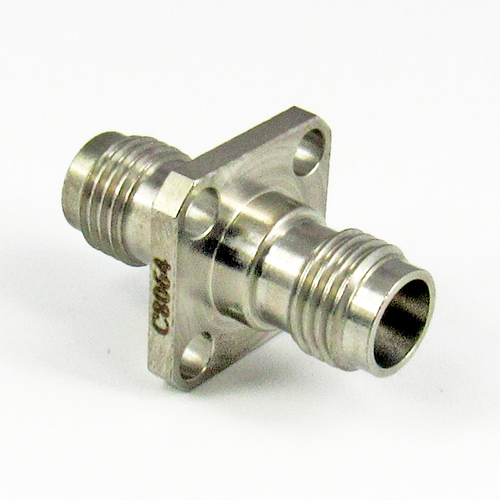 C8064 1.85mm Flange Adapter Female to Female Centric RF