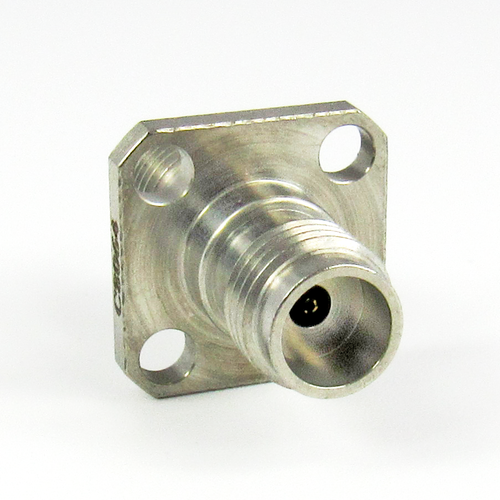 C8064 1.85mm Flange Adapter Female to Female 67Ghz VSWR 1.25