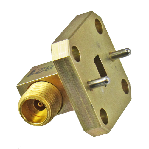 22AC216 WR22 to 2.4mm Waveguide to Coax Adapter Centric RF