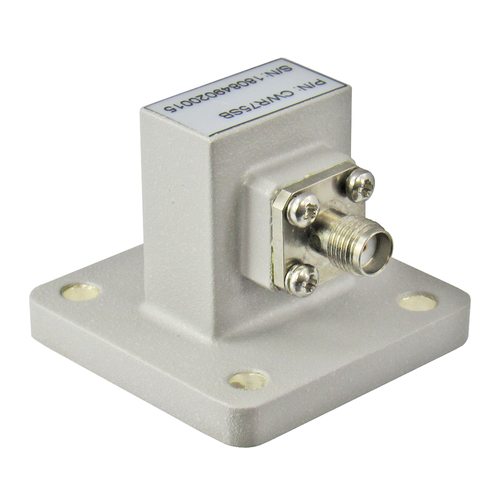 CWR75SB WR75 to SMA Waveguide to Coax Adapter Centric RF