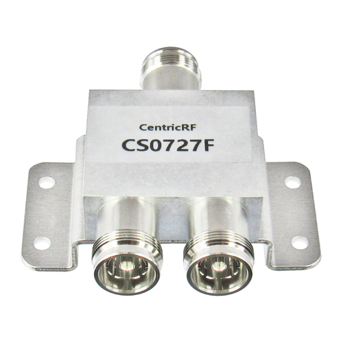 CS0727F 4310 Power Divider 2-way 0.698-2.7Ghz Centric RF