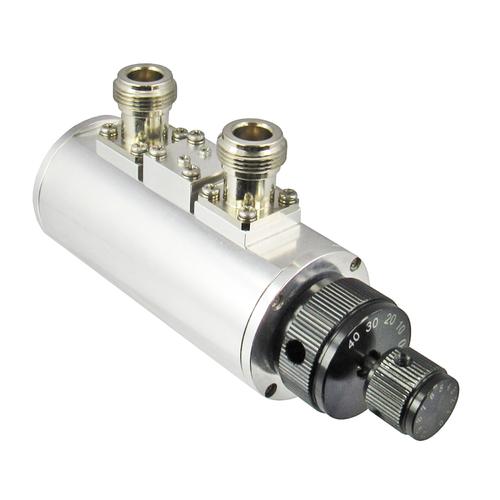 CR27N-50B Dual Rotary Attenuator 0-50db 1db Steps 0-2.7Ghz N Centric RF