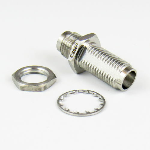 C8069 1.85mm F/F Bulkhead Adapter Centric RF