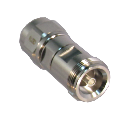 C8276 4.1/9.5 Female to N/Male Mini DIN Low PIM Adapter Centric RF
