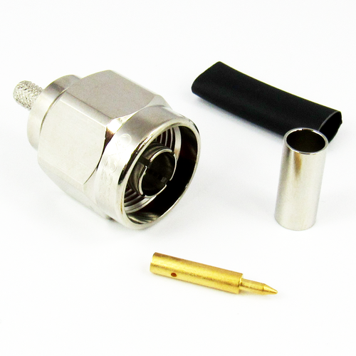 CX2238 N Male Connector for RG223 Cable Brass Centric RF