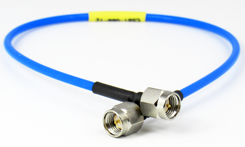 C581-086-24 SMA/Male to SMA/Male .086 24 inch Flexible Cable Centric RF