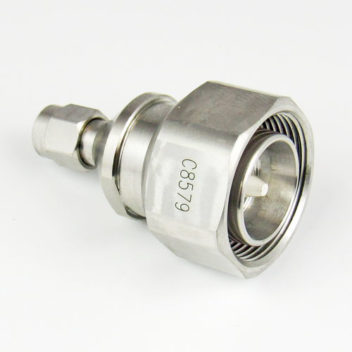 C8579 4.3/10 Male to SMA Male Adapter Centric RF