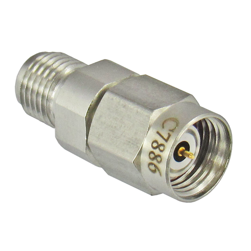 C7886 1.85mm Male to 3.5mm Female Adapter 33Ghz VSWR 1.25 Centric RF