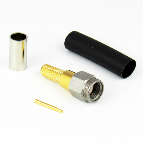 CX0581 SMA Male Crimp/Solder Connector RG58 Centric RF